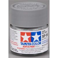 Tamiya lakk Acryl XF-54 Dark Seagrey 10ml glass